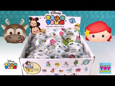 Disney Tsum Tsum Series 2 Mystery Stack Pack Blind Bag Opening | PSToyReviews