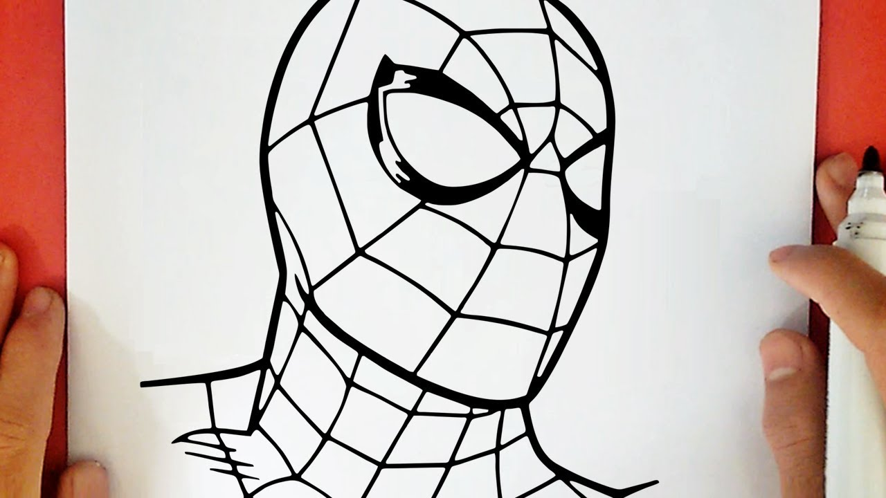Como Desenhar O Homem Aranha Youtube