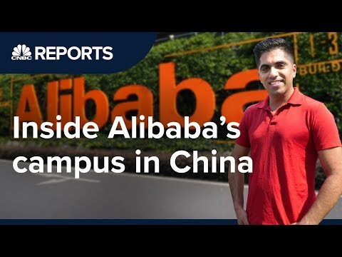 We Went Inside Alibaba's Global Headquarters | CNBC Reports