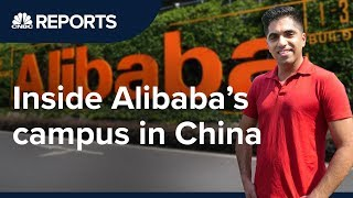 We went inside Alibabas global headquarters  CNBC Reports