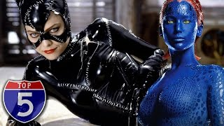Top 5 Hottest Female Movie Villains