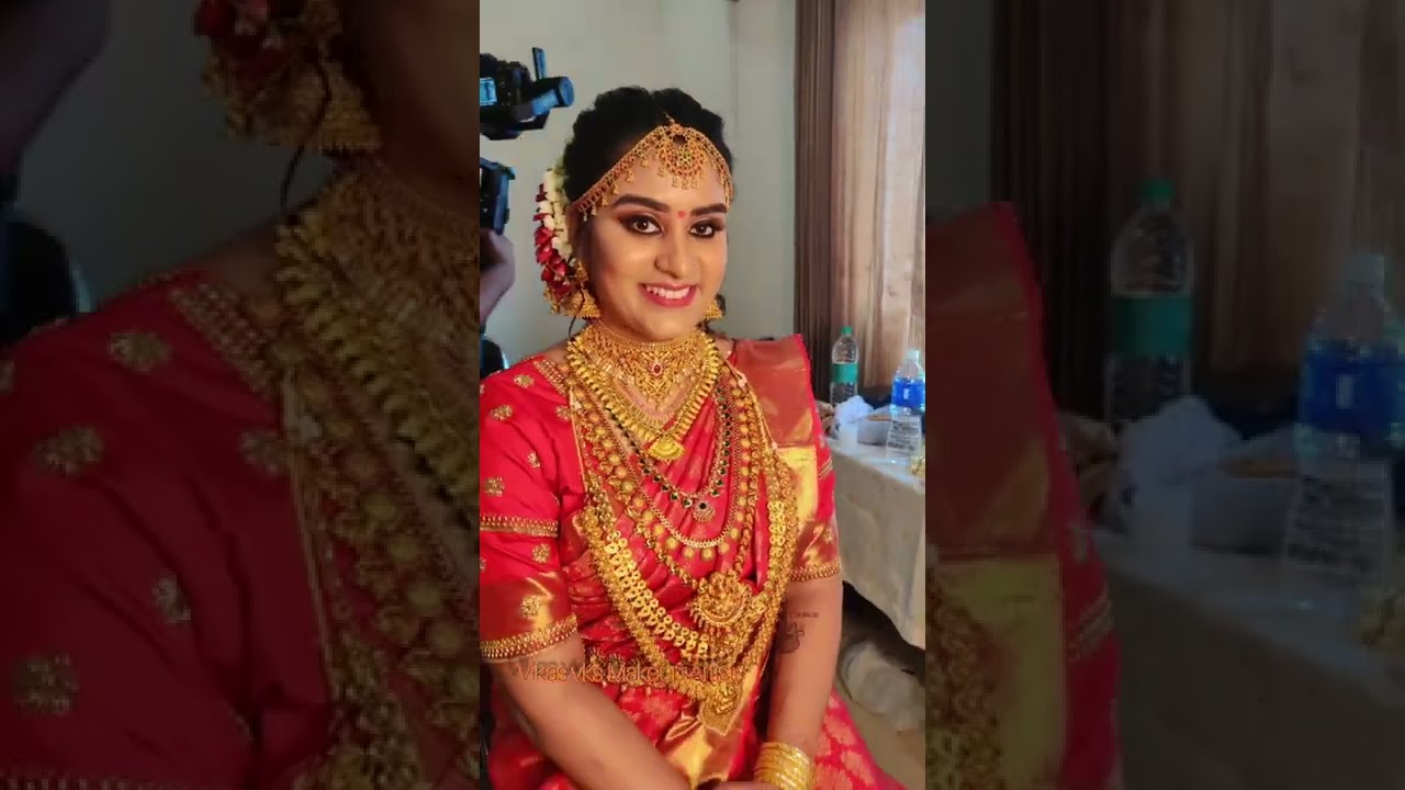 Some of my Happy Bride & works of this year #vikasvksmakeupartist #keralaweddingstyles #keralabride
