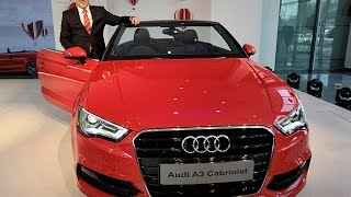 Audi Launches A3 Cabriolet In India @ Rs 44.75 Lakh !