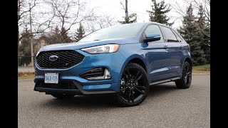 "The 2019 Ford Edge ST - Putting the ""ST"" in strength and stunning"