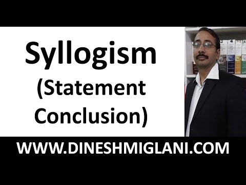 Best Tricks and Shortcuts on Syllogism (Statement- Conclusio