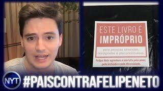 Felipe Neto é chamado de oportunista e usuários criam campanha CONTRA ele