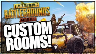PUBG Mobile INDIA : CUSTOM ROOMS WITH SUBSCRIBERS!
