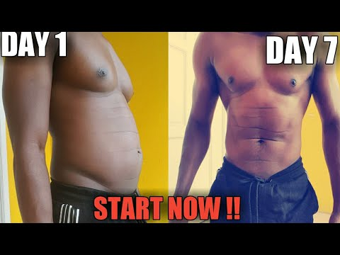 How To Lose Belly Fat in 7 Days | Lose weight Fast |2019