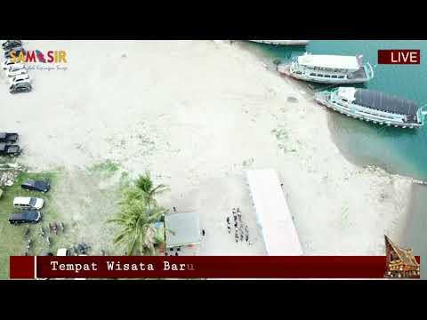 Pantai Pandua Nainggolan Kabupaten Samosir