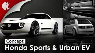 Honda Reveals Its Future For Electric Cars With Awesome Retro Sports Ev Concept Car