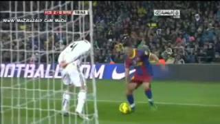 Barça vs Real Madrid 5-0 Chaouali 2010