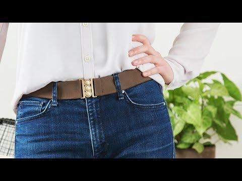 A belt that doesn't feel like one.