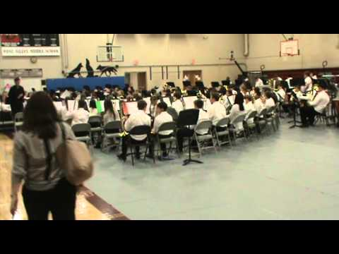 West Valley Middle School 7th Grade Spring Concert 2014-15