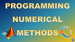Numerical Methods in MATLAB