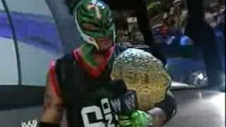 Rey Mysterio Vs JBL Retirement Match 1/4