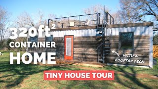 "The ""mainsail"" Container Home Tour 