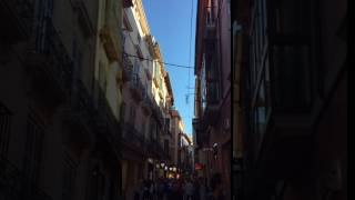 Walking in the Old Town of Palma de Mallorca