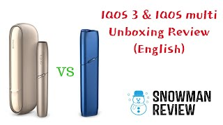 IQOS 3 and IQOS Multi unboxing English Review