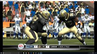 Madden NFL 11 PLAYABLE in 4K on RPCS3 PS3 Emulator