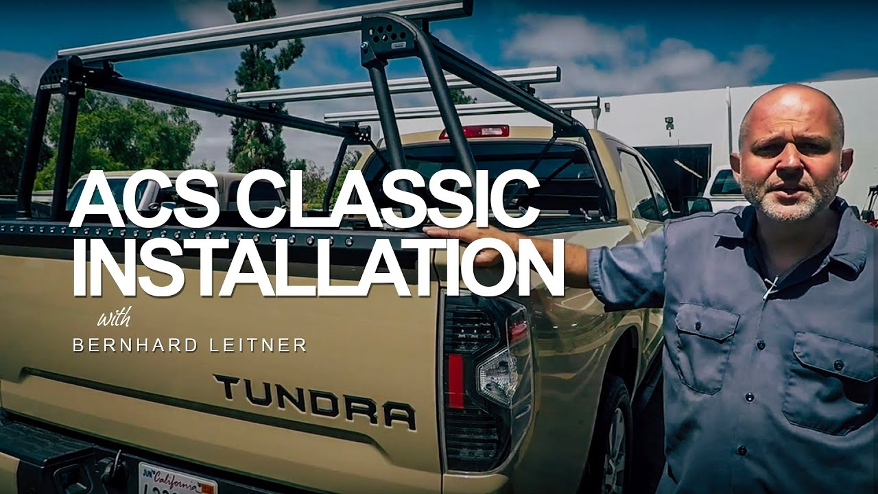 Tacoma Bed Racks >> Leitner Designs ACS Full size Install - YouTube