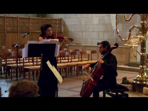 Martinu Duo for violin and cello no.2