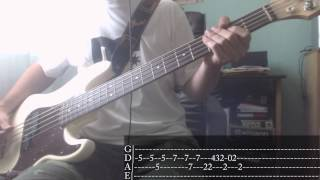 Pop-punk/punk-rock's Week 07 The Offspring Pretty Fly For A White Guy Bass Cover + Tab