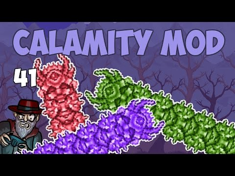 Terraria # 41 DESTROYER OF CHIPPY  - 1.3.4 Calamity Mod Let's Play
