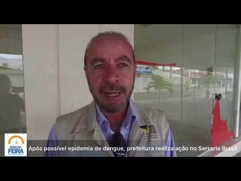 Após possível epidemia de dengue, prefeitura realiza ação no Serraria Brasil