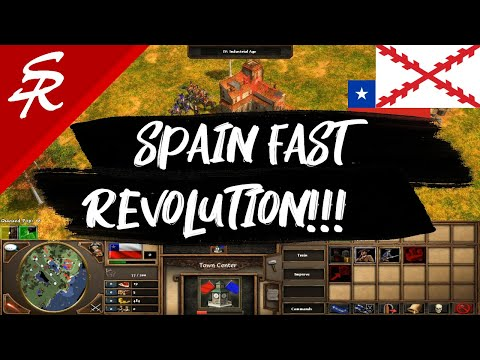 Spain Fast Revolution!! | Strategy School | Age of Empires III