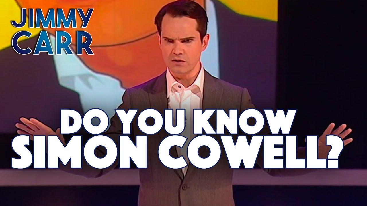Jimmy On Simon Cowell | Jimmy Carr: TELLING JOKES