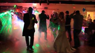 Mr & Mrs bridge getting down 001