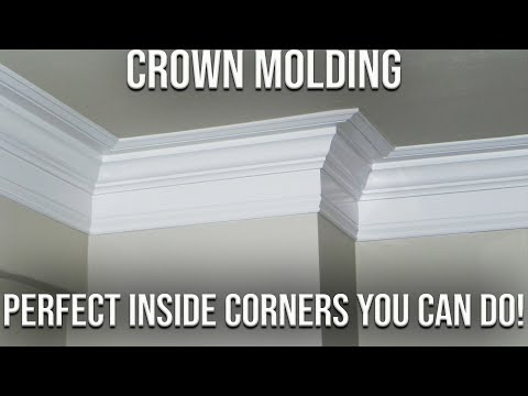 Best Way To Get Perfect Inside Corners On Your Crown Molding Made Simple!