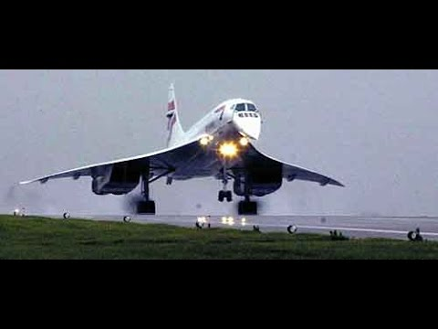 British Airways Concorde take off -includes ATC and pilot / copilot call outs