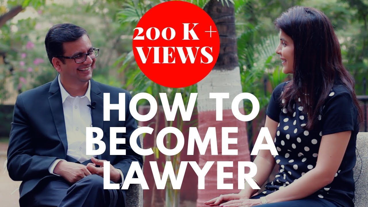 How To Become A Lawyer In India How To Be A Good Lawyer Career In Law Chetchat Youtube