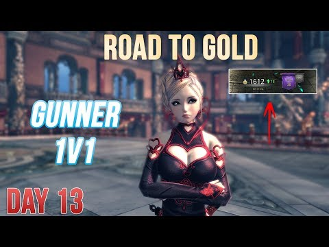 Blade And Soul : GUNNER 50 PvP 1v1 - Road to Gold