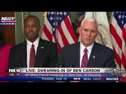 WATCH: Swearing-In of Ben Carson (FNN)