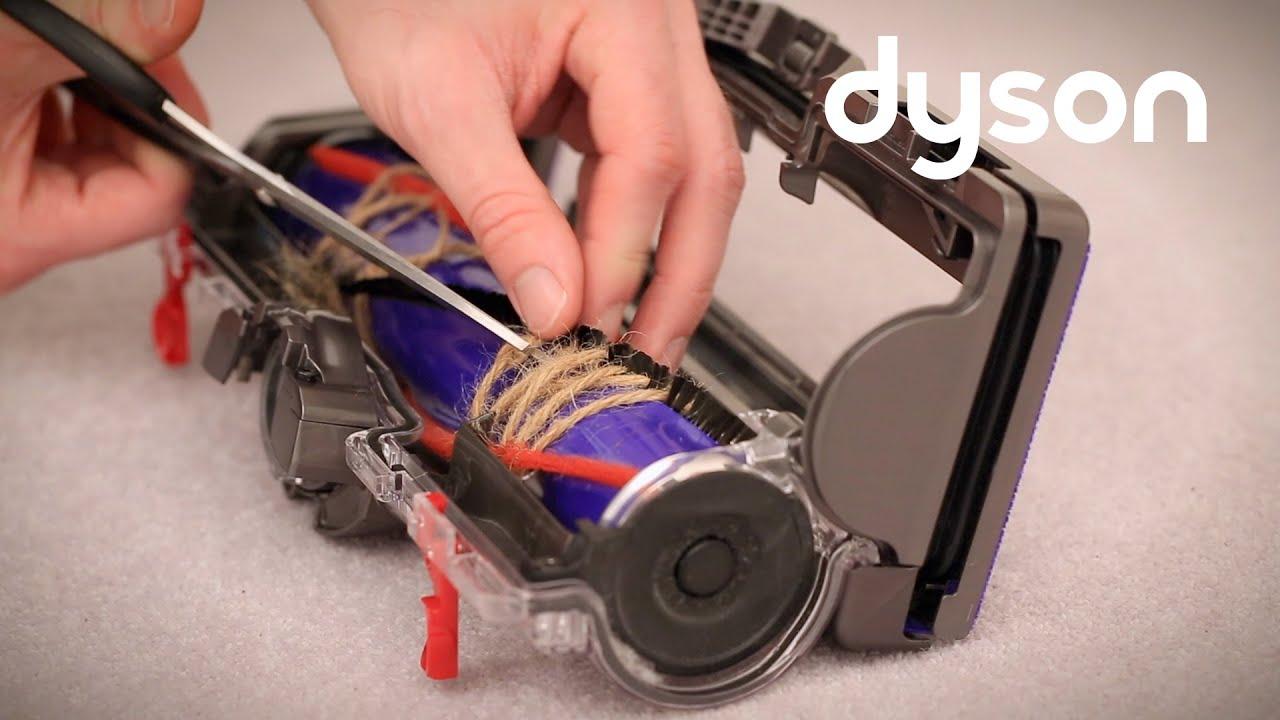 Dyson Small Ball Upright Vacuum Resetting The Brush Bar