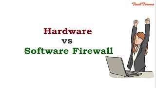 Hardware Firewall vs Software Firewall  | Network Security | TechTerms