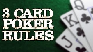 How to Play 3 Card Poker - Casinotop10