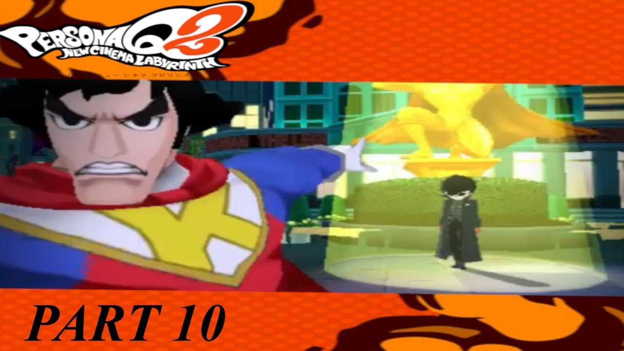 Let's Play Persona Q2 NCL Part 10 Taking down A Rabbit Off To the next  Movie!