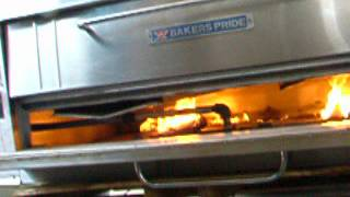 bakers pride double deck y600 y602 pizza oven bottom deck for mark