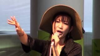 2012年8月5日、三井アウトレットパーク入間にて、島谷ひとみさん「亜麻...