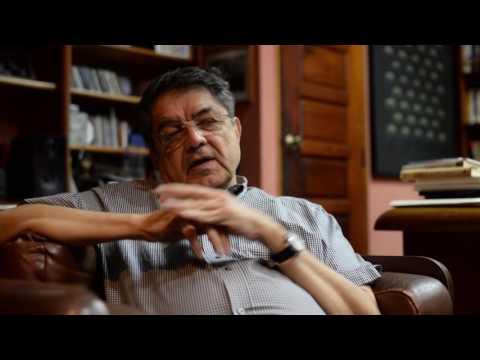 """Sergio Ramírez: """"Es difícil vivir de los derechos de autor"""""""