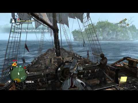 Assassin's Creed IV: Black Flag - Vanglorious Bastards: Locate Royal African Co Ship, Ram Scene