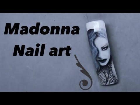 Madonna :: Nail Art Tutorial by Pablo Rozz