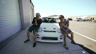 homepage tile video photo for Jack and Joe's 1991 Nissan 240SX Track Car