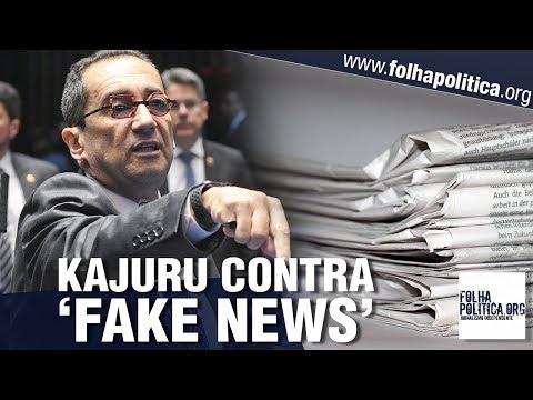 Senador Kajuru se revolta após sofrer ataques difamatórios, 'fake news' e anuncia reação