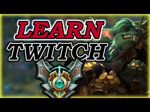 Learn Twitch Jungle in 10 Minutes - Twitch Jungle COMMENTARY GUIDE - League of Legends [Season 7]