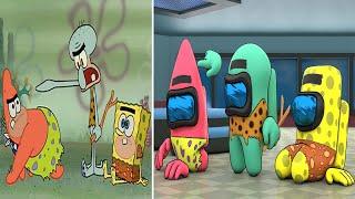 SpongeBob VS Among Us (part 7)