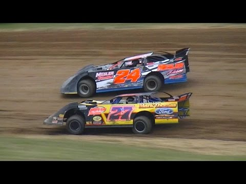 Crate Late Model Heat One | McKean County Raceway | 7-28-16